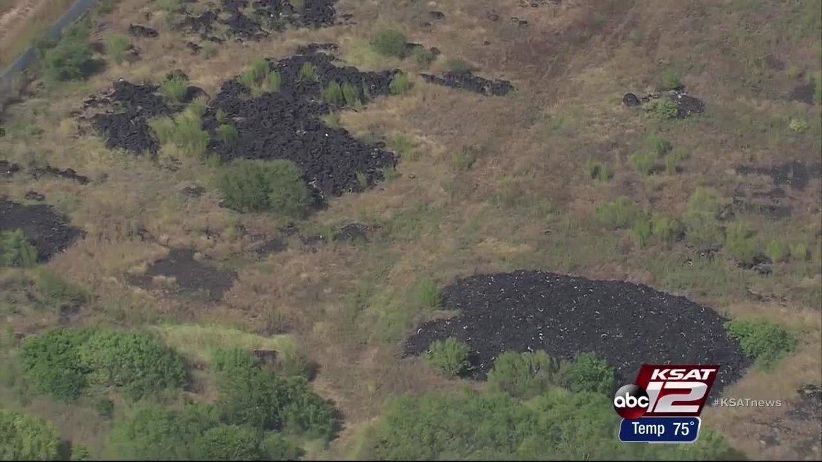 Judge orders landowner to clean up Applewhite tire dump site KSATnews