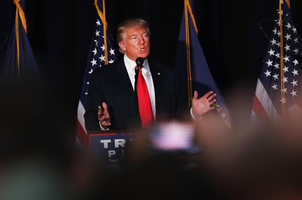 Donald Trump's charitable foundation is not certified to raise money in New York