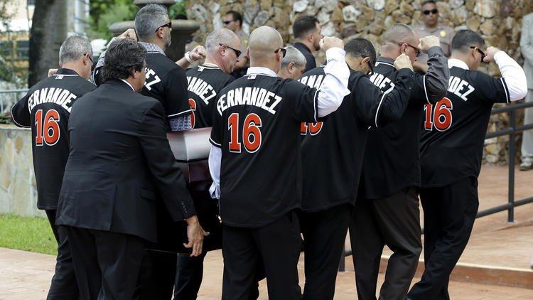 Jose Fernandez remembered at funeral for big personality and fun-loving spirit