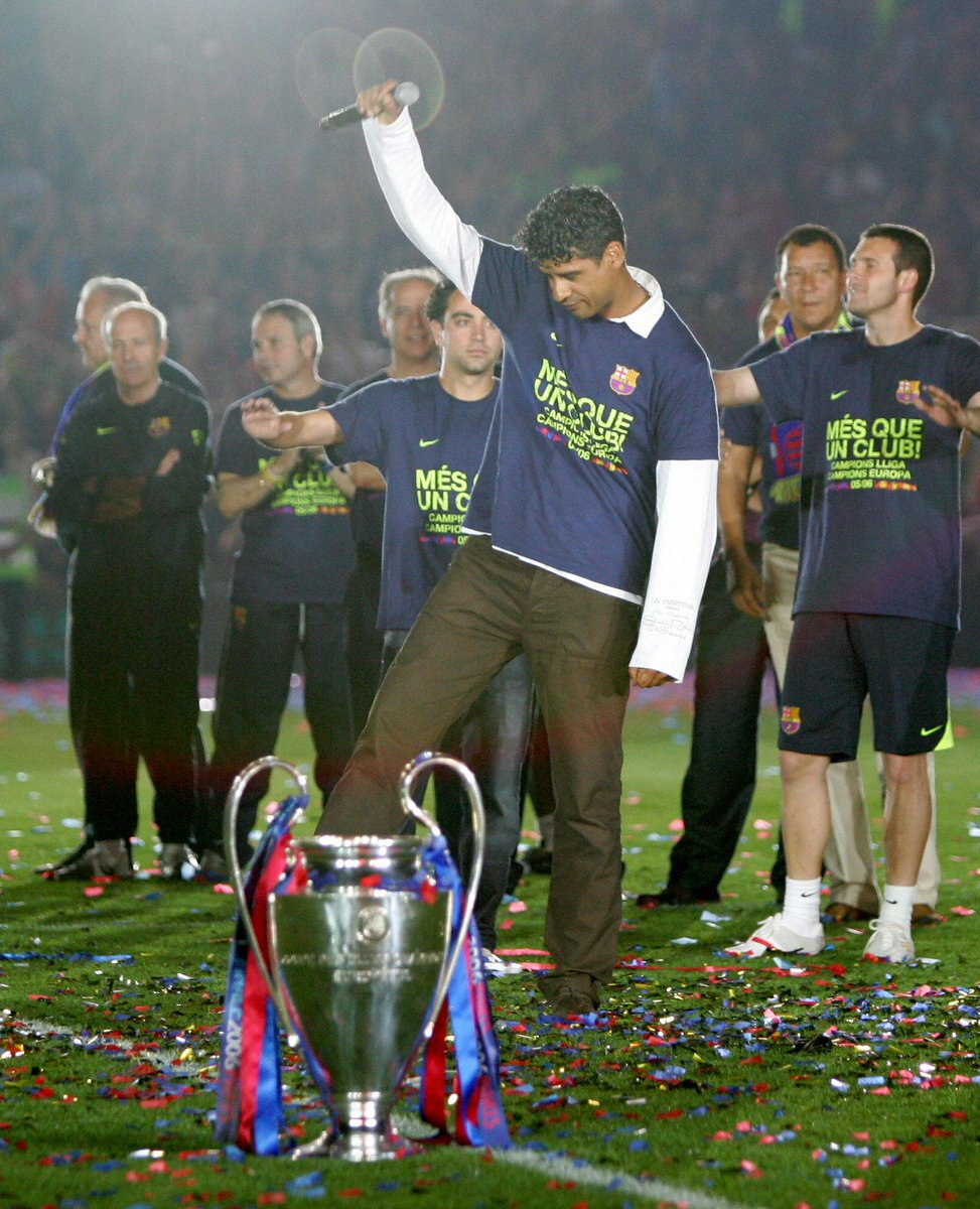 """Champions League on Twitter """"In 2006 Frank Rijkaard became the"""