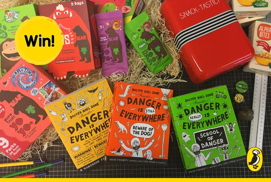 Calling all Dangerologists! #Win a bundle of #DangerisEverywhere books and @Follow_the_Bear snacks. RT to enter! https://t.co/wSbXKqCWy7