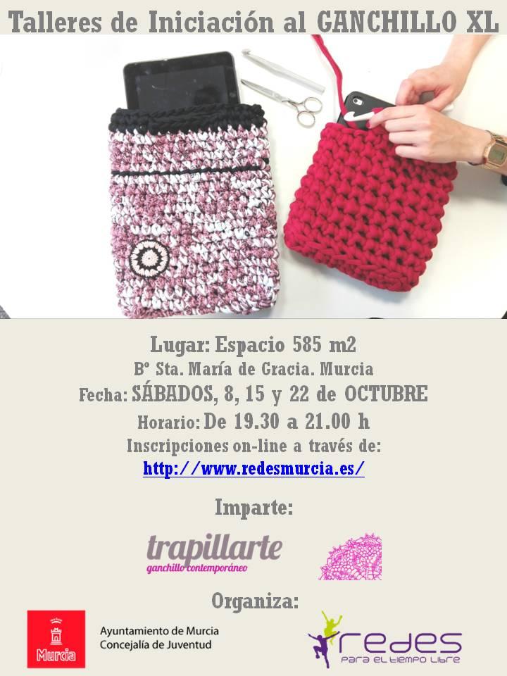 En octubre, vuelven los talleres de ganchillo de @trapillarte. Más info en:  #talleresganchillo #crochet #ganchillo