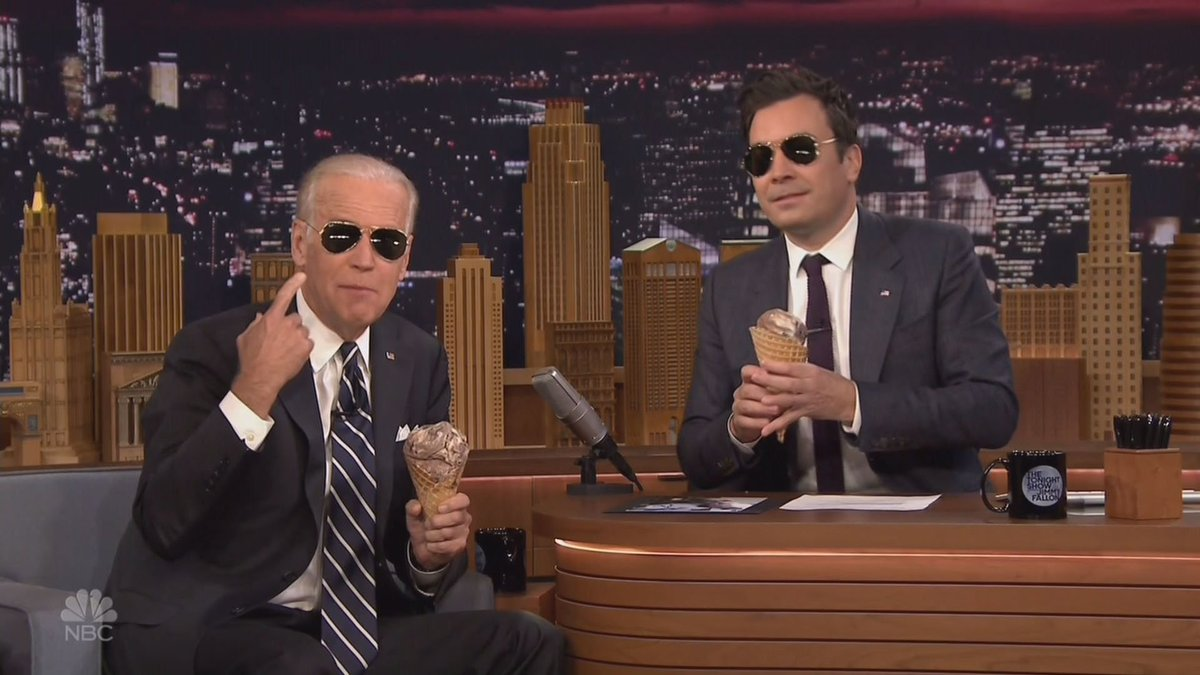 VP Biden told Fallon what surprised him most about the 1st Clinton vs. Trump debate