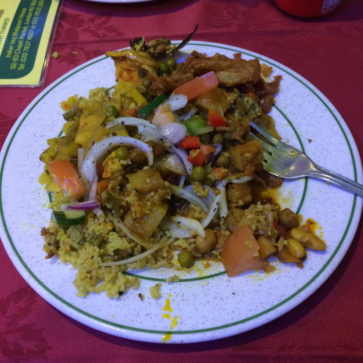 VEGANG On Twitter Big Up Indianveg Chapel Market For The Bad Boy All You Can Eat Buffet