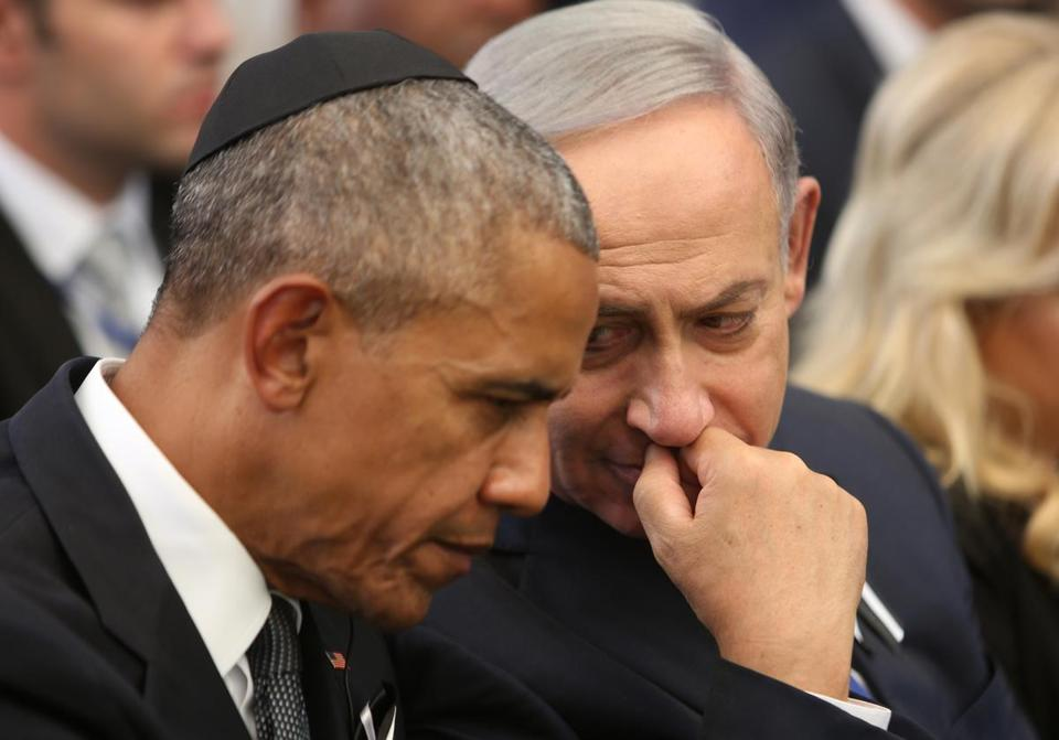 Obama offered a heartfelt eulogy for former Israeli President Shimon Peres