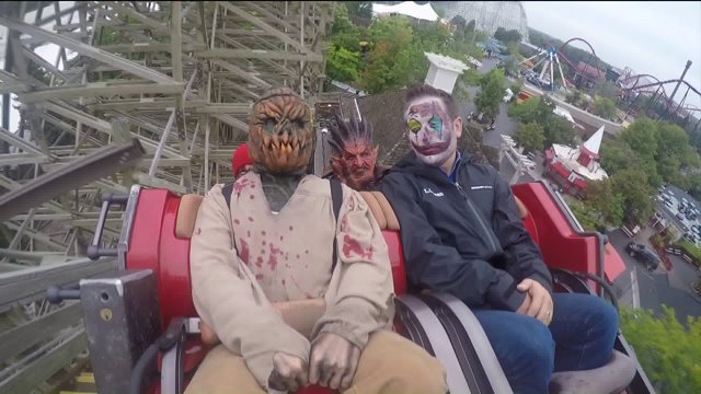 Get a look behind the scary scenes of Six Flags' Fright Fest
