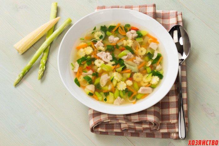 Легкие супы рецепты с фото