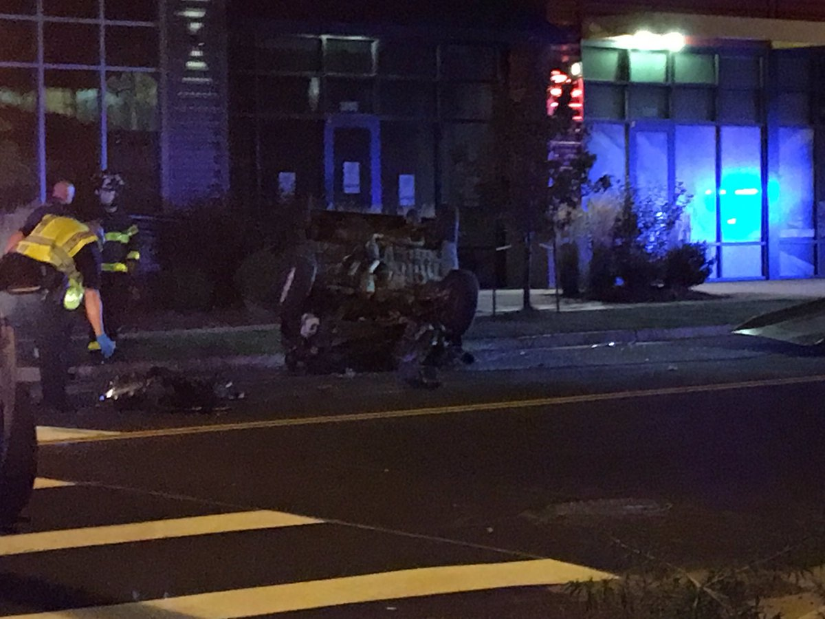 one person taken to the hospital with unknown injuries after a rollover accident at 39th and Fox.