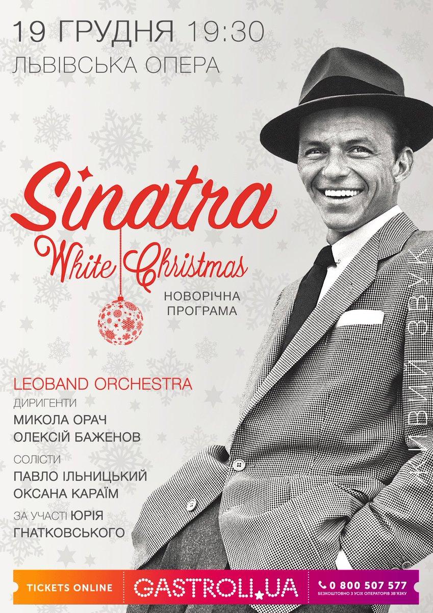 0 replies 0 retweets 1 like - Frank Sinatra White Christmas