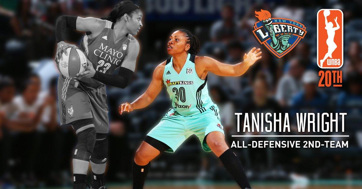 71626eac39a congratulations tanisha wright named wnba all defensive 2nd team for a 2nd  straight season nyliberty led