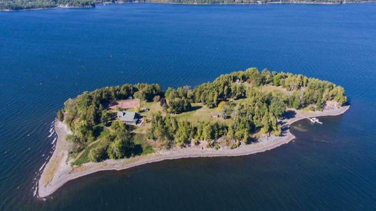 You could buy this private island in Vermont for less than a one-bedroom apartment in NYC