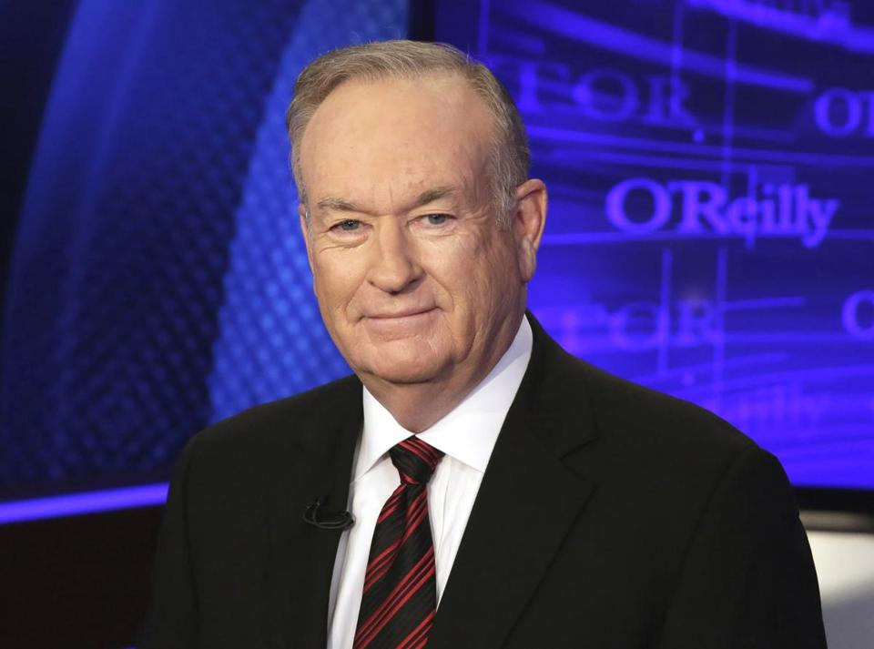 Bill O'Reilly is responding to James Taylor's request to turn off Fox News at Logan