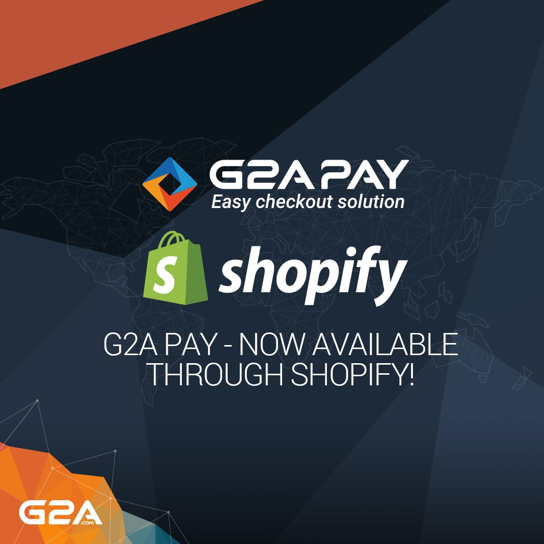 g2a com on twitter g2a pay has partnered with shopify open your
