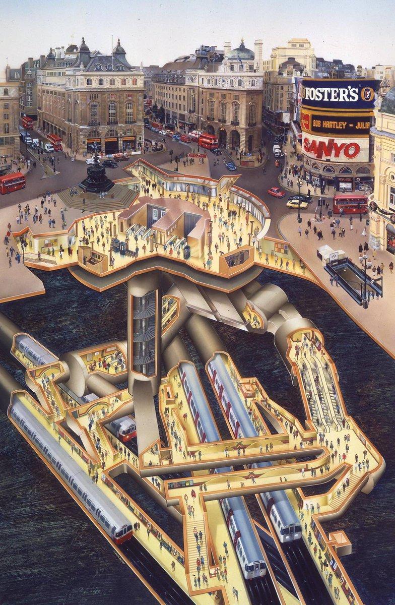 ความซับซ้อนของรถไฟใต้ดินในเมืองลอนดอน รถไฟใต้ดินแห่งแรกของโลก https://t.co/wjpoFDy1ud https://t.co/xs6dqYOlWW