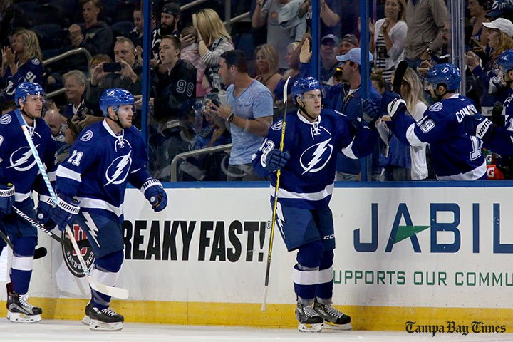 Wing Morin makes good first impression on Lightning