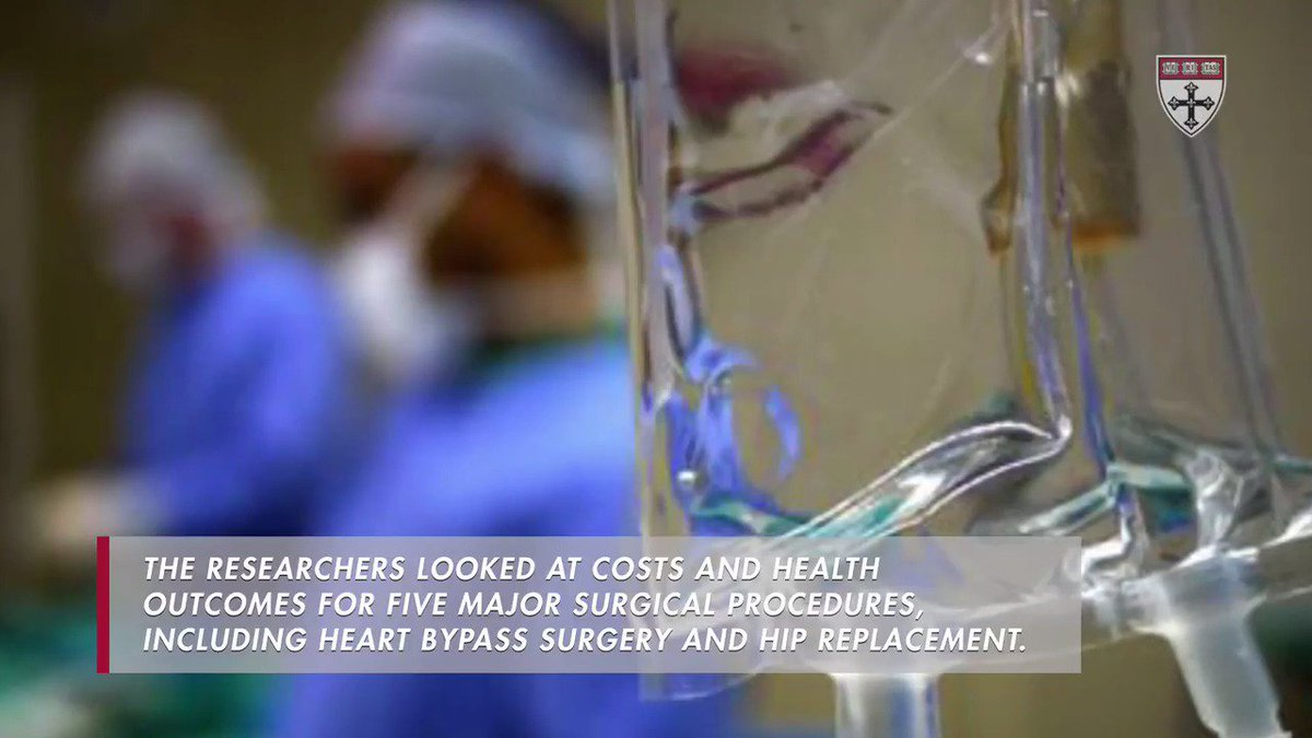A recent study found that surgery at high quality hospitals saves lives and costs less money https://t.co/M6bvToeh4x
