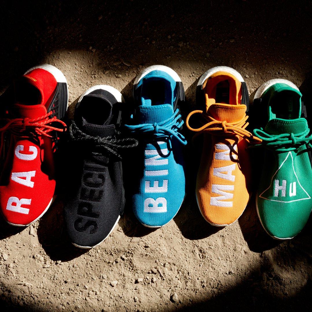 on sale 92571 20e44 Human Pack : adidasoriginals Pharrell NMD Human Race Pack ...