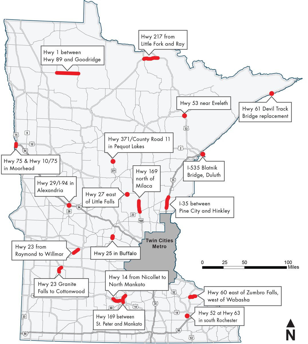 Image Result For Mn Highway Map
