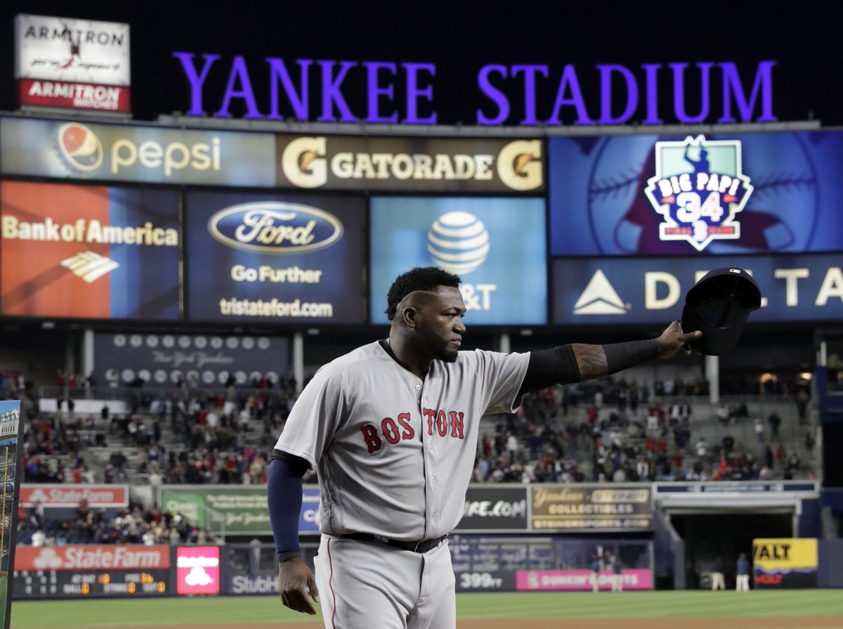 Morning Sports Update: Yankees say good-bye to David Ortiz in 'most meaningful' manner yet