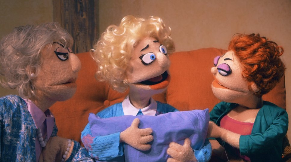 A Golden Girls puppet show is opening in NYC next week