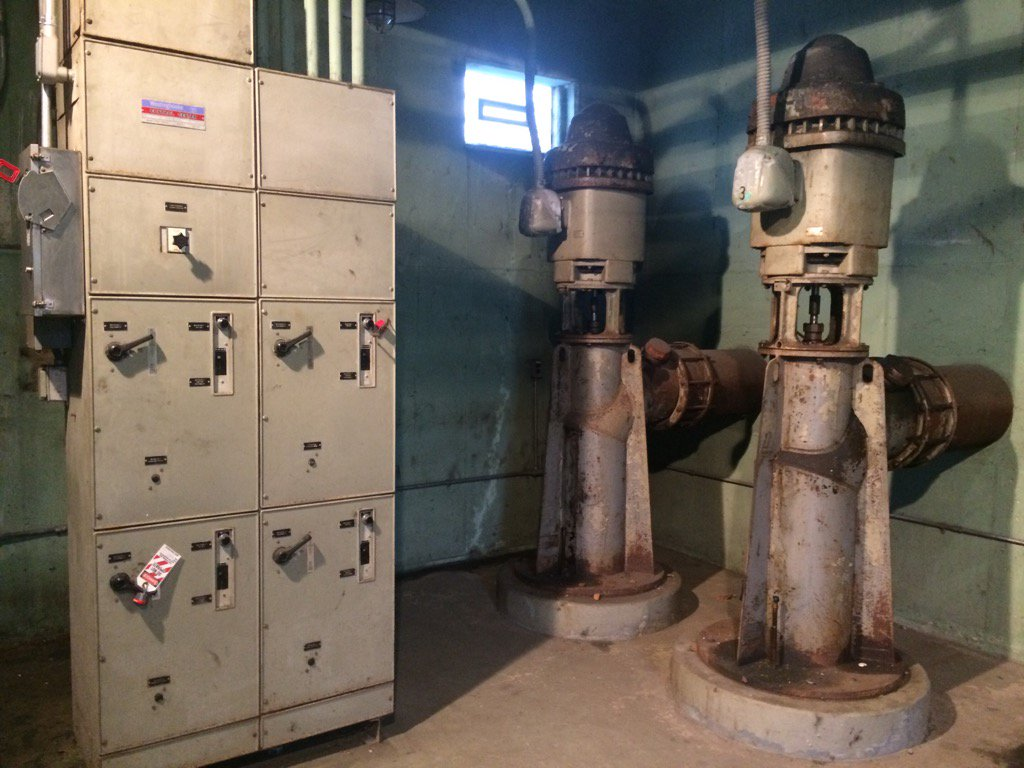 Why do Detroit freeways flood? These pumps are twice as old as their intended life span. How does that happen? At 6.