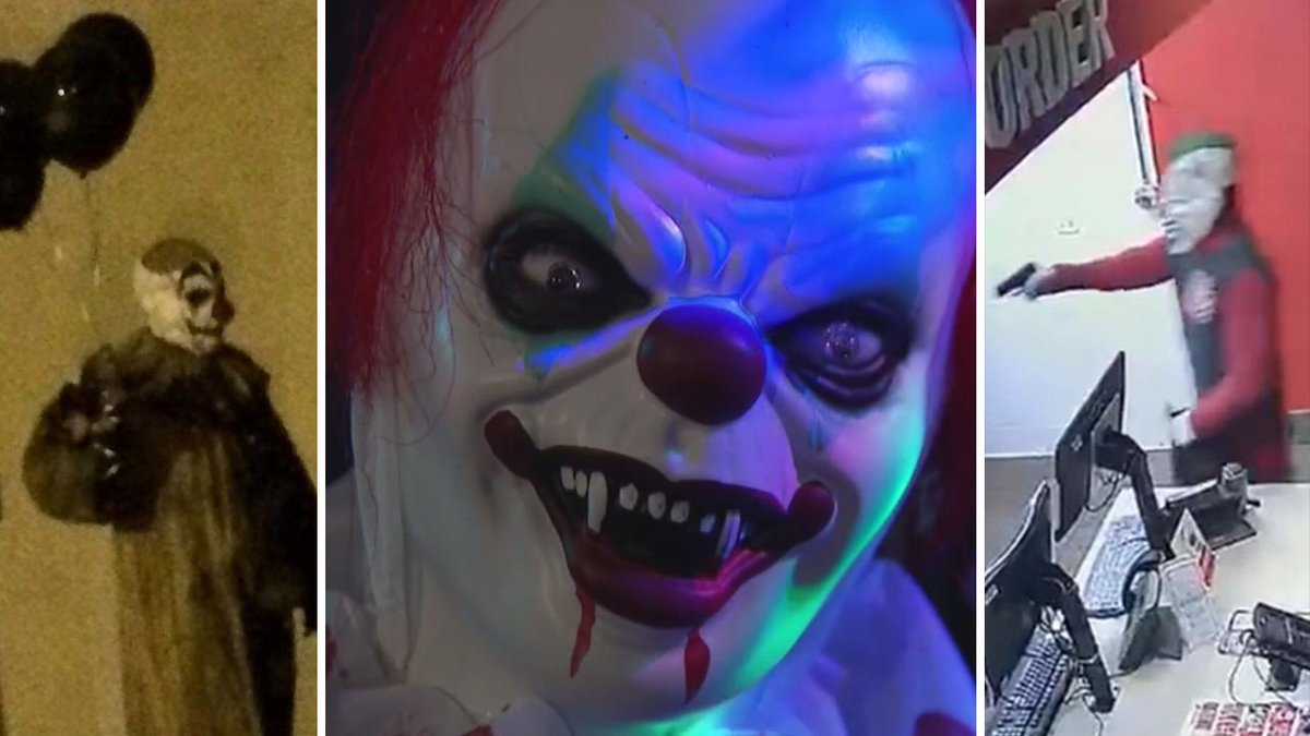 Clowns in America: Timeline of scares and sightings