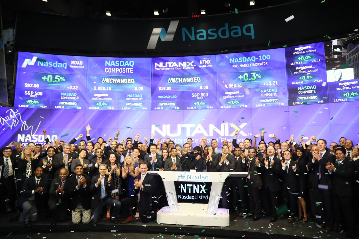 Thank You to everyone that helped make this moment so special #NutantNation #Nutanix https://t.co/GozFS4cvJr
