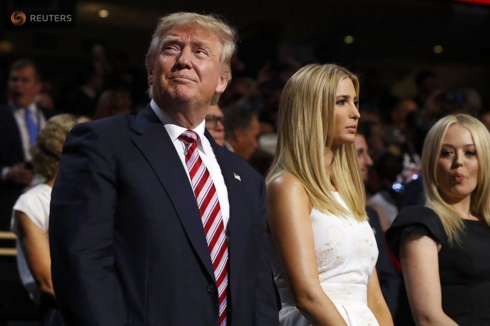 Donald Trump said 17-year-old Ivanka made him promise not to date younger than her