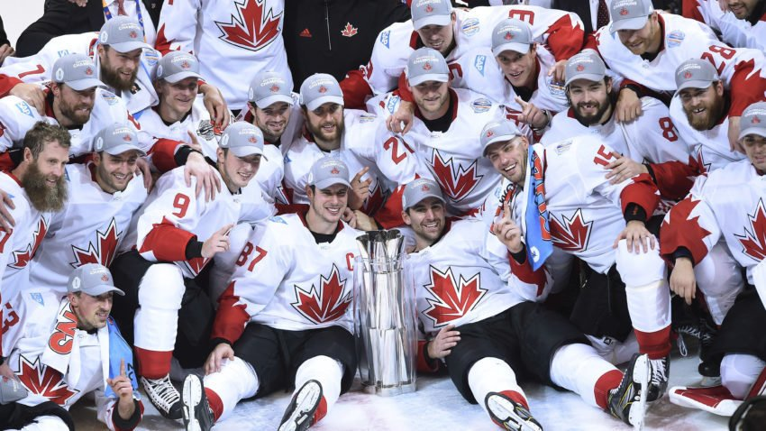 Bruins players account for all three goals as Team Canada beats Team Europe