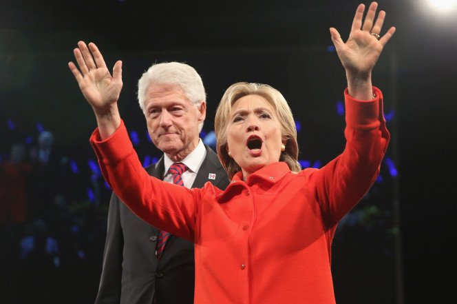 Hillary's campaign is reprortedly keeping Bill off the trail due to his rumored affairs