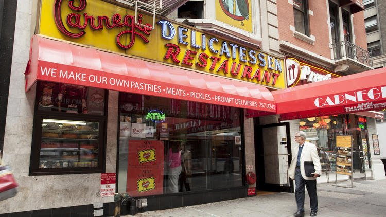 Iconic pastrami sandwich-slinger Carnegie Deli will close at the end of the year