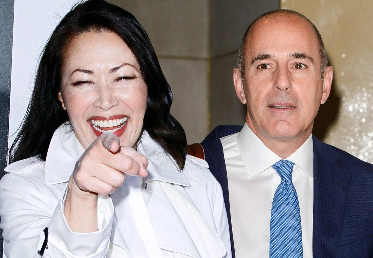 Take that! Ann Curry could scoop Matt Lauer for the coveted Brangelina interview