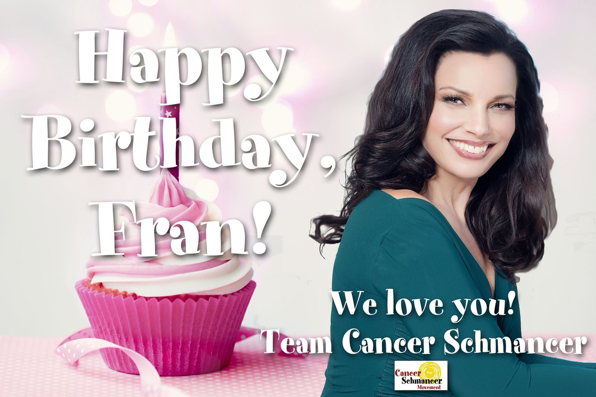 Happy birthday, @frandrescher! xoxo https://t.co/IzK1wimnCc https://t.co/8lzNM0YLZG