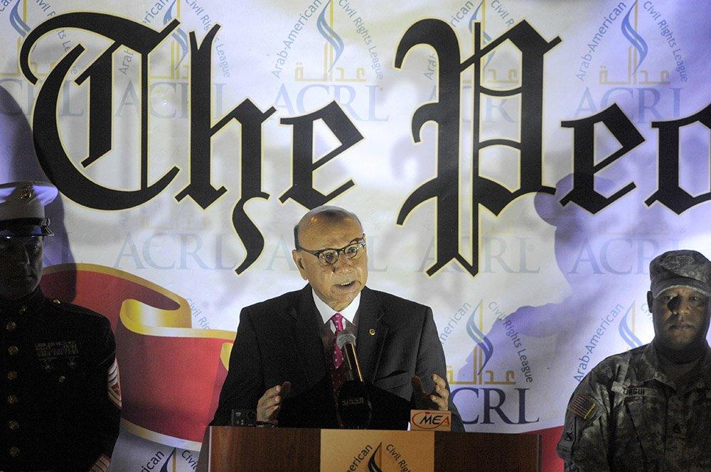 Gold Star dad Khizr Khan wins Arab-American civil rights award.