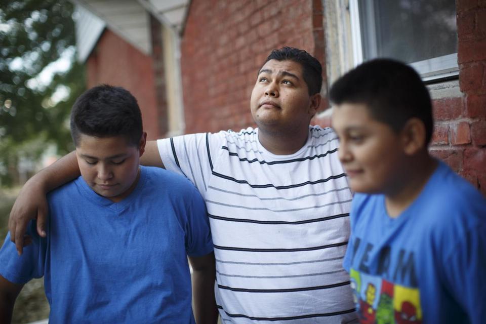Children of immigrants arrive through refugee program