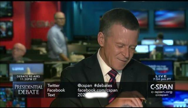 13,000 people texted a D.C. bartender instead of C-Span after the presidential debate.