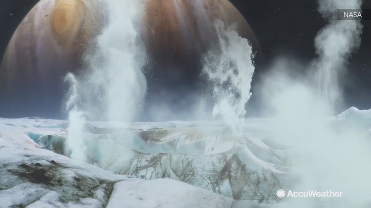 From @accuweather: NASA discovers possible water vapor on Europa