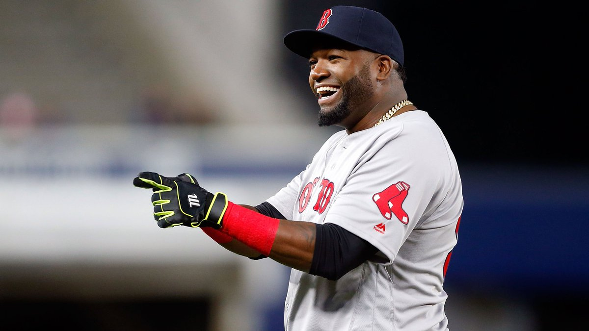 The Red Sox are ready for Big Papi's final home series