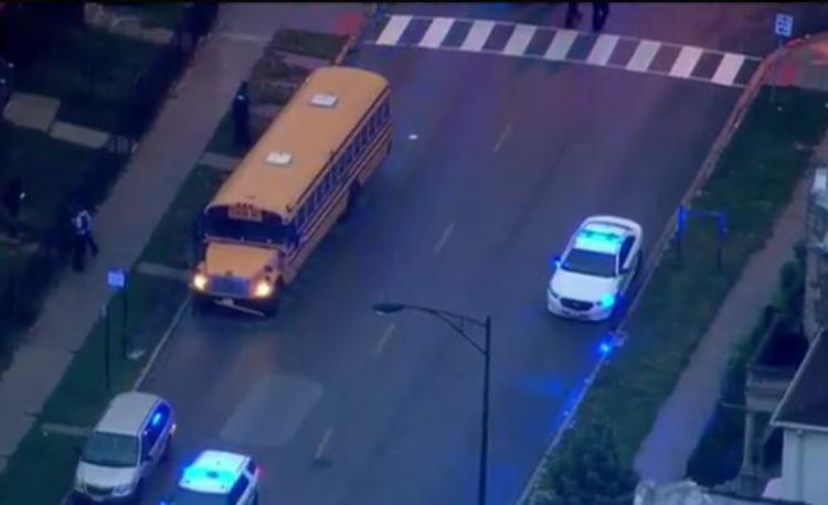 Chicago school bus driver shot in the head while students were on board