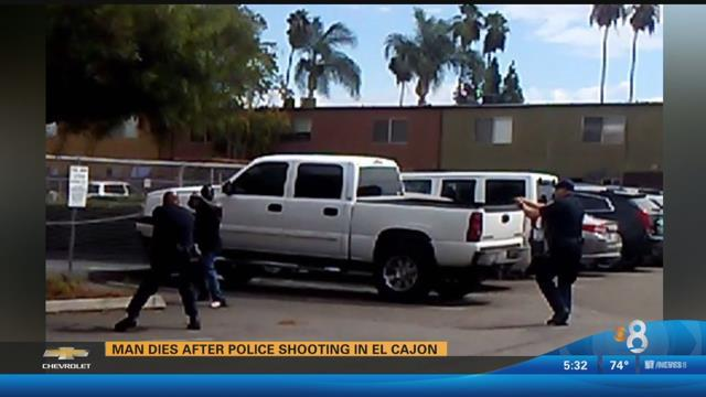 JUST IN: Video in connection with an officer-involved shooting in El Cajon will be released Friday at 2 p.m.