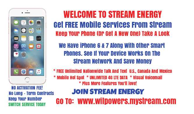 Stream Energy Phone Number >> Will Thomas On Twitter Stream Energy We Have Iphone 6 7 Along