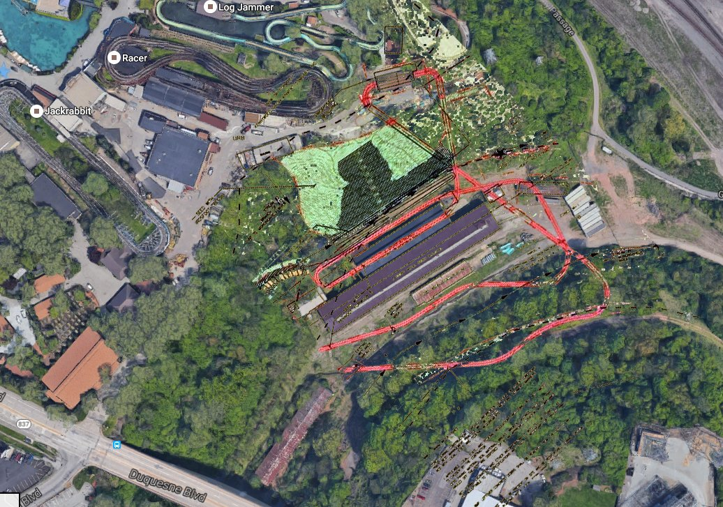 Plans for Kennywood's 2018 Attraction Revealed at City Council ...