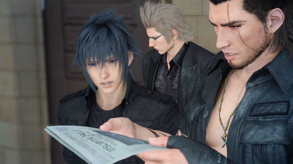 Final Fantasy XV Rated T By ESRB 1