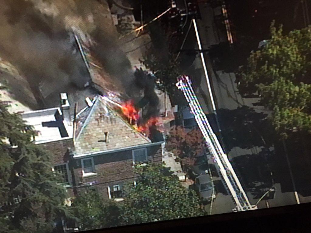 Berkeley's First Congregational Church 3 alarm Fire.