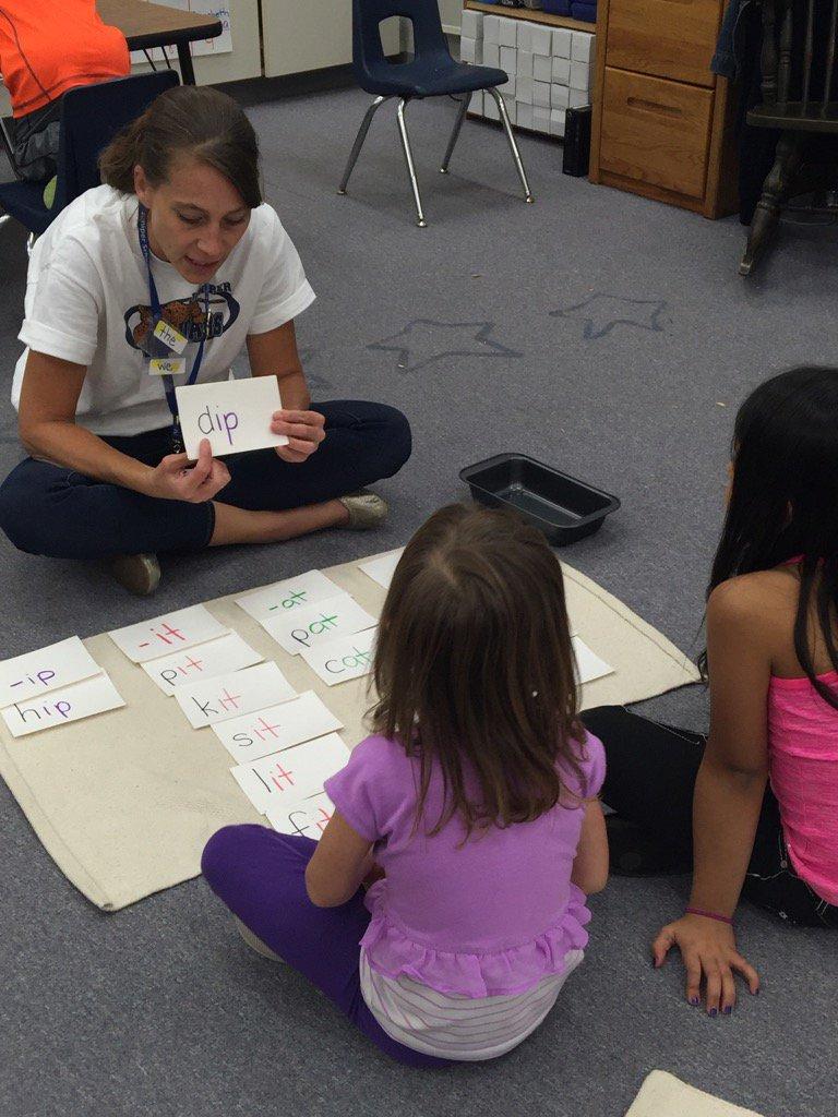 Jaguars sounding through cvc words in Juniper's Kindergarten. #excellenceforall