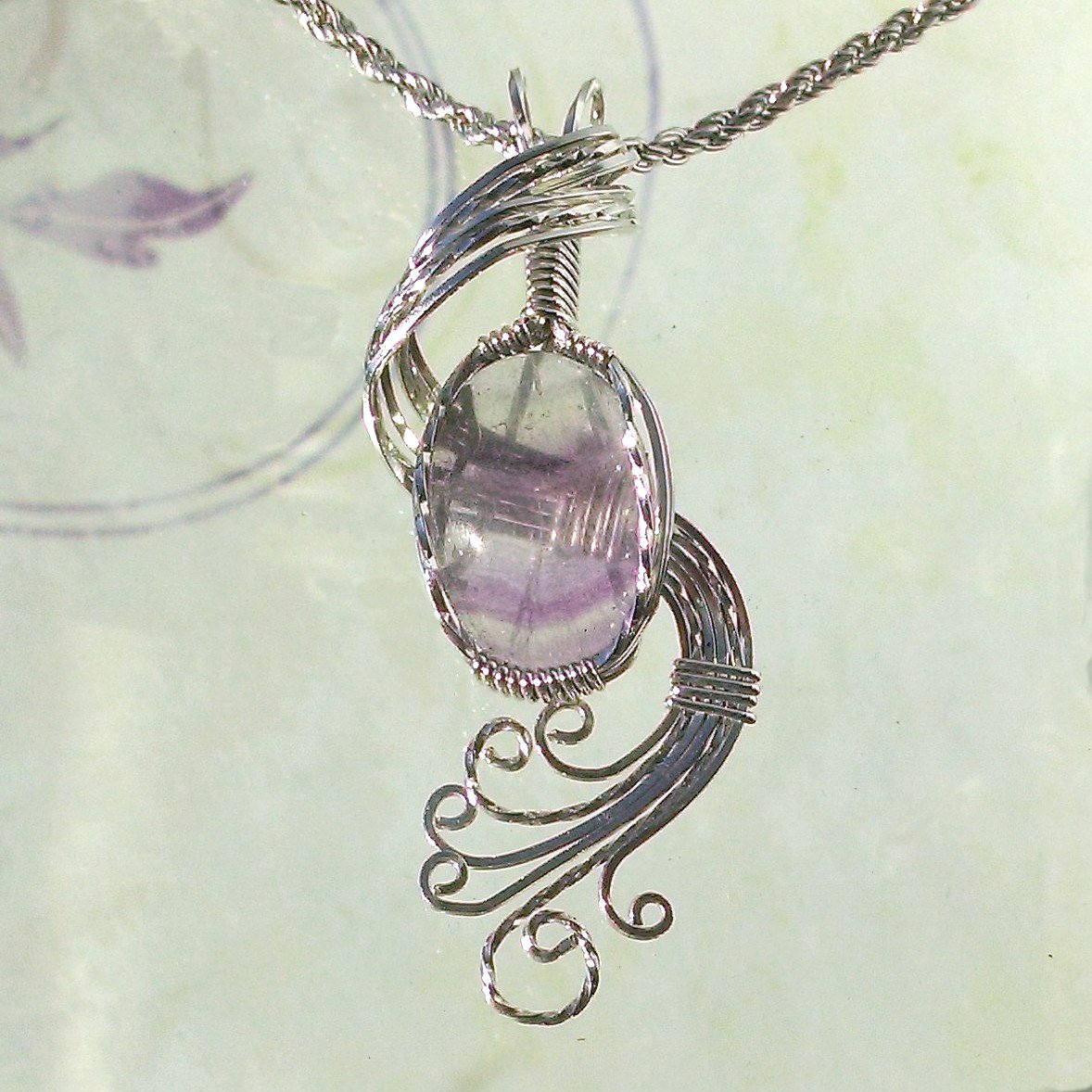 Purple Fluorite Pendant Necklace Wire Wrapped Jewelry Handmade in S… https://t.co/xzPD1eqhYL #hippiechic #craftshout https://t.co/iq0UHdj3Fd