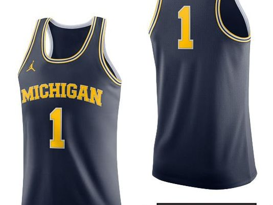 UM Jumpman basketball uniform sticks with classic look @TonyPaul1984