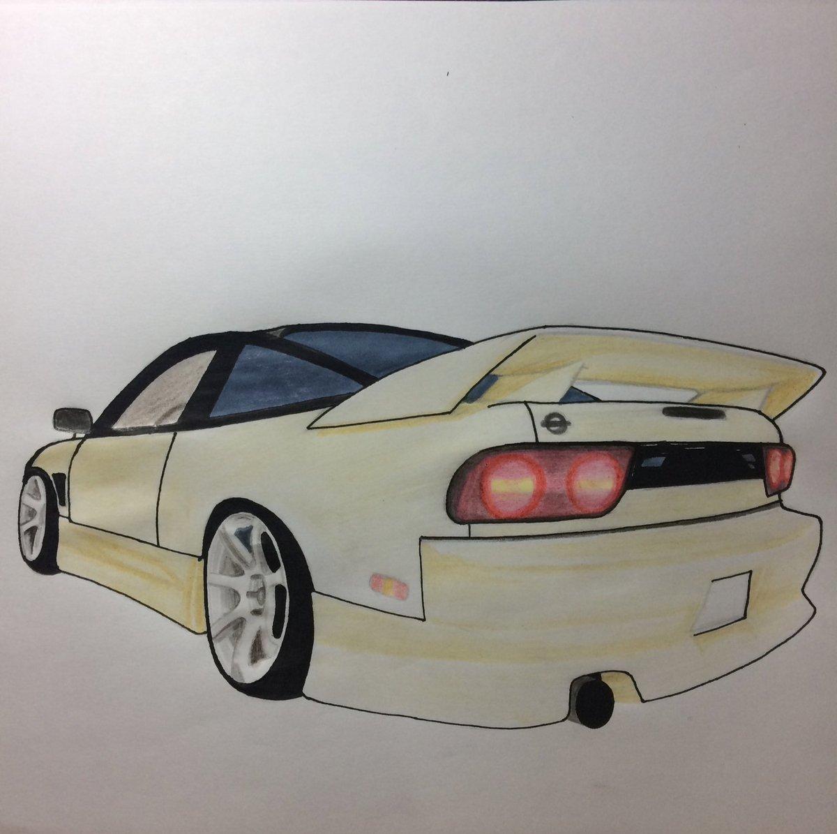 Maurii On Twitter Adam Lz Nissan 240sx Drift Car Draw