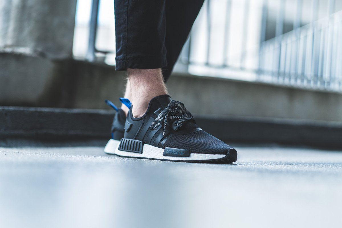 The Sole Supplier On Twitter The Adidas Nmd R1 Black Blue Is