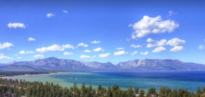 Pic of sunny LakeTahoe today. Weekend changes! Winter Weather Adv begins Sun 11am. Possibly 3